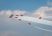 Red Arrows 'Tornado' formation